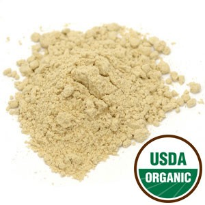 Organic Ginger Root Powder Pouch