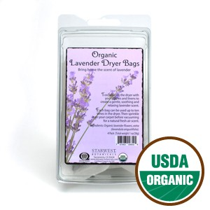 Starwest Organic Lavender Dryer Bags