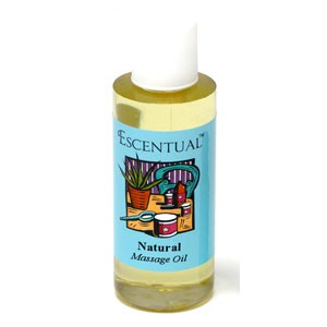 Escentual™ Natural Massage Oil Unscented