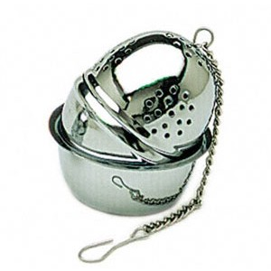 Tea Ball Infuser with Tray (Small)