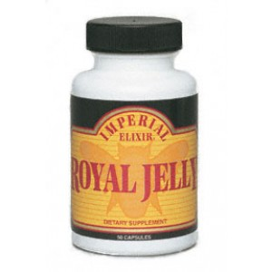 Imperial Elixir Royal Jelly 500 mg Capsules