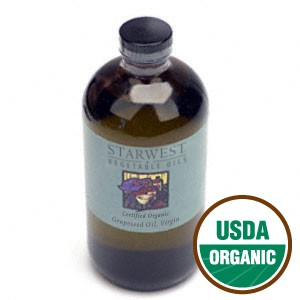 Grapeseed Oil, Organic (Virgin) (16 oz)